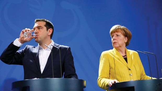 Merkel és Tsipras